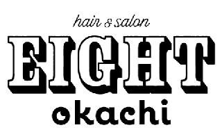 """上野御徒町の美容室エイト"""" EIGHT """"のロゴBL"""